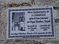 Plaque in Church of Saint Michael, Tlamahuco, Tlaxcala.jpg