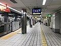 Platform of Noda-Hanshin Station 2.jpg