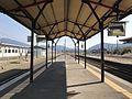 Platform of Yoshimatsu Station.jpg