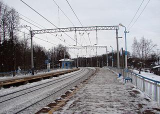 Alabino Village in Moscow Oblast, Russia