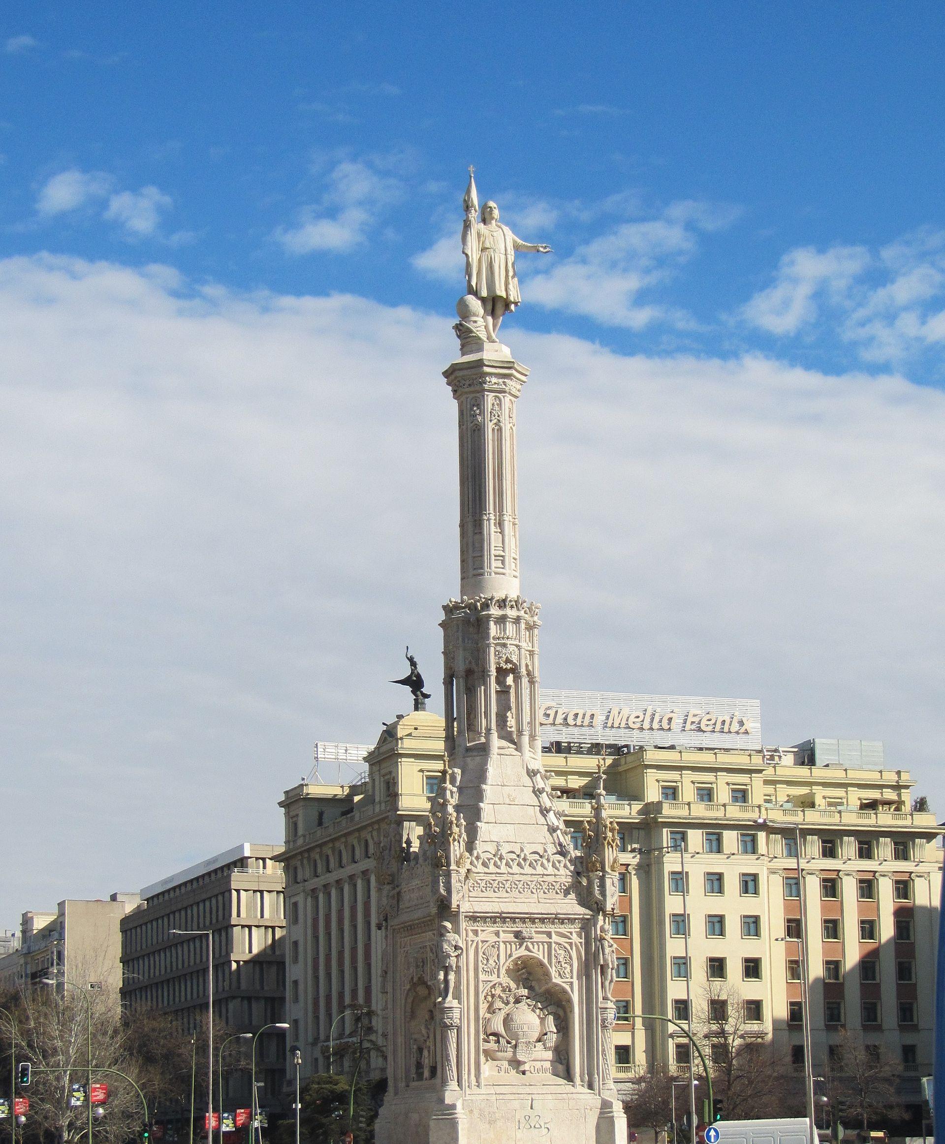 Plaza de Colón (Madrid) - Wikipedia, la enciclopedia libre