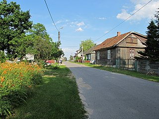 Lubejki Village in Podlaskie Voivodeship, Poland
