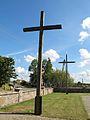 Podlaskie - Wyszki - Topczewo - Kościół św. Stanisława 20110903 - Krzyż 05.JPG