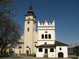 Podolínec Town in Slovakia