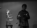 Poetes recitant a l'Horiginal de Barcelona el 2007 23.JPG
