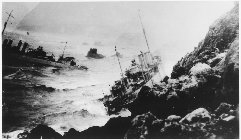 File:Point Honda wrecks, vessels 310 and 311 - NARA - 295530.tiff