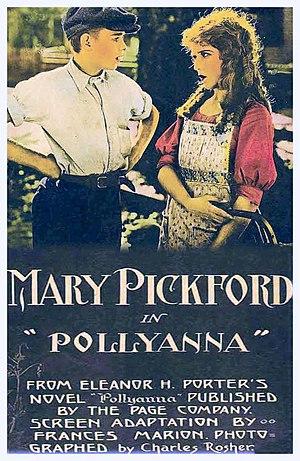 Pollyanna (1920 film) - Film poster