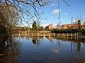 Pond or Flood^ - geograph.org.uk - 1730716.jpg