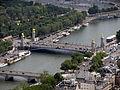 Pont Alexandre III from the Eiffel Tower, Paris June 2014 002.jpg