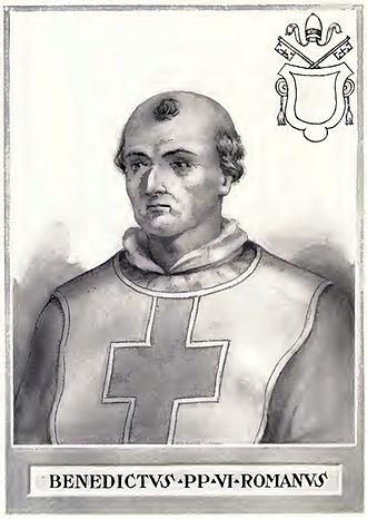 Pope Benedict VI - Image: Pope Benedict VI Illustration