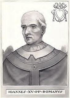 Pope John XV pope