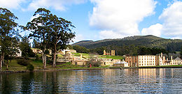 Port Arthur, Tasmania was Australia's largest penal colony.