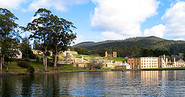 Port Arthur, Tasmania era la colonia penal más grande de Australia.