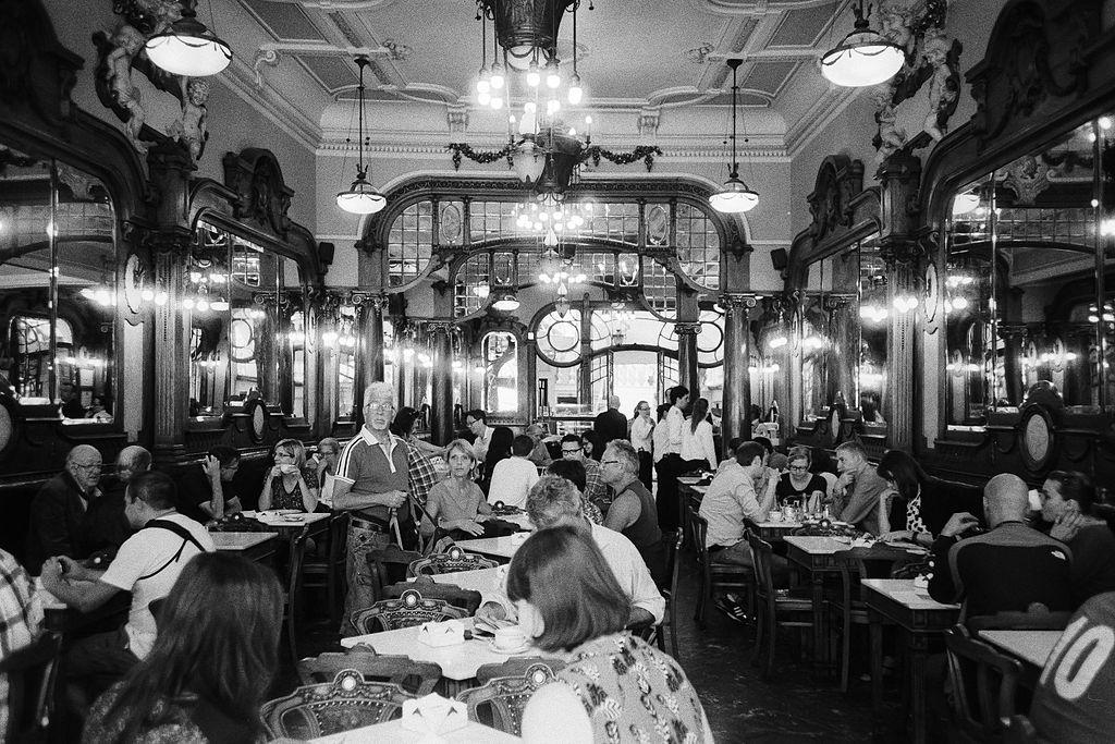 Café Majestic à Porto - Photo de @ondasderuido