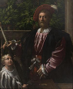 Portrait of Lorenzo Cybo - Image: Portræt af Lorenzo Cybo