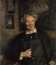 Portrait of August Strindberg by Richard Bergh