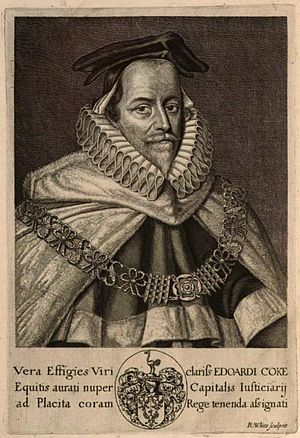 Edward Coke - Edward Coke transferred to the Court of King's Bench on 25 October 1613.