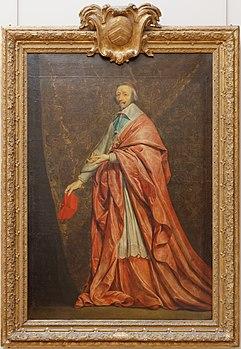 Portrait of Richelieu by Philippe de Champaigne Louvre INV 1136 n01.jpg