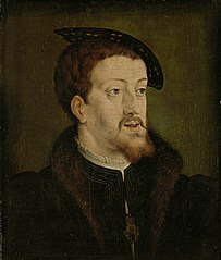 Portrait of Charles V (1500-58), emperor of the Holy Roman Empire