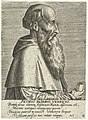 Portret van Pietro Bembo Petrvs Benbvs, Venetvs (titel op object) Portretten van beroemde Europese geleerden (serietitel) Virorum doctorum de Disciplinis benemerentium effigies (serietitel), RP-P-1909-4446.jpg