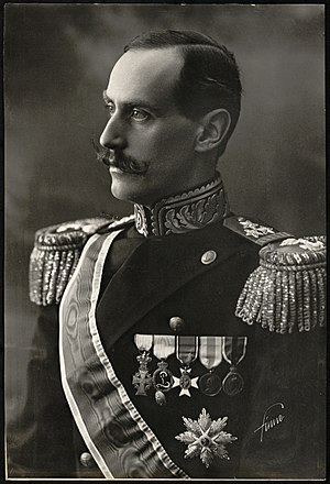 Royal Palace, Oslo - King Haakon VII, the first monarch to permanently reside at the palace