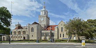Portsmouth Cathedral - Image: Portsmouth Cathedral 2014