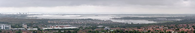 View over Portsmouth from Portsdown Hill