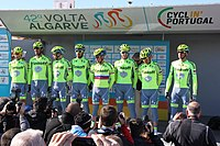 Portugal - Algarve - Lagos - 2016 Volta ao Algarve - cycle team (25168312633).jpg