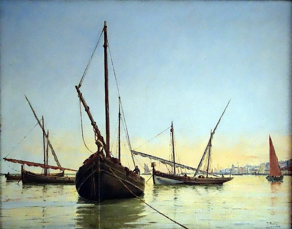 Tableau du musée maritime de Lisbonne - Photo de Mike Steele