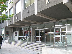 Poles in the United Kingdom - The POSK building in Hammersmith.