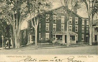 Litchfield, Connecticut - Litchfield County Jail, 1907