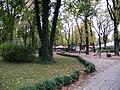 Poznań, ogród zoologiczny (stary), kon. XIX ---aleja02.JPG