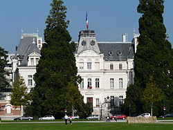 Prefecture building of the Haute-Savoie department, in Annecy