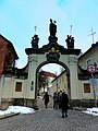 Prag – Eingang in das Kloster Strahov - Vstup do Strahovského kláštera - panoramio.jpg