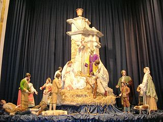 Presepe della concattedrale di Maria Santissima Assunta