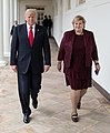 President Trump and Norway PM Erna Solberg (cropped).jpg