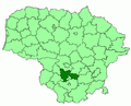 Prienai district location.png