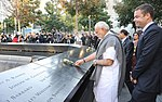 Prime Minister Modi pays homage at the 9-11 Memorial in New York.jpg