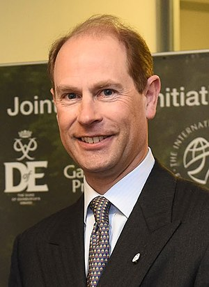 Prince Edward, Earl of Wessex - The Earl in Belfast, February 2015