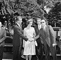 Prince Juan Carlos of Spain and Princess Sophia of Greece at White House (01).jpg