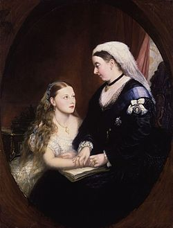 Princess Beatrice of Battenberg; Queen Victoria from NPG.jpg