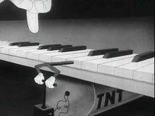 Booby Traps, dessin animé de 1944 avec le soldat Snafu, doublé par Mel Blanc.