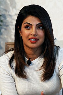 Priyanka Chopra looking away from the camera