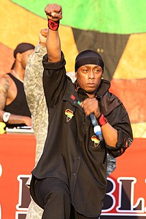 Professor Griff American rapper, spoken word artist and lecturer