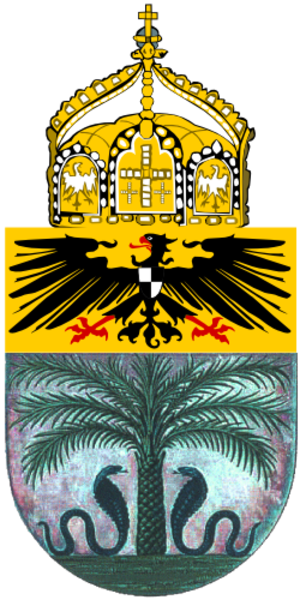 Emblem of Togo - Proposed German arms 1914