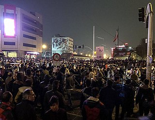 2017–18 Iranian protests series of demonstrations in Iran beginning on 28 December 2017