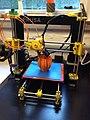 Prusa i3 - RepRap 3D printer printing.jpg