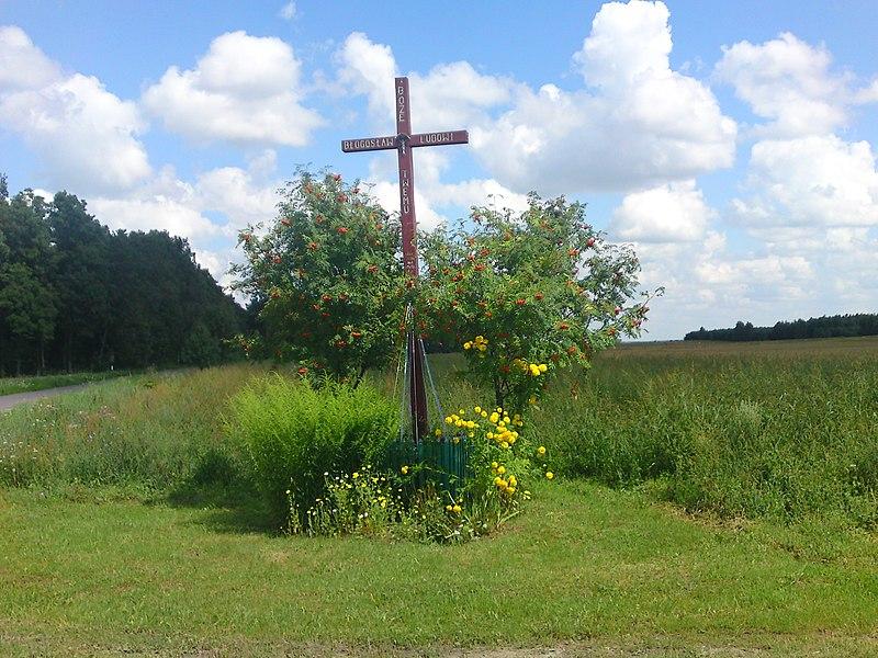 File:Przydrożny krzyż - panoramio (4).jpg
