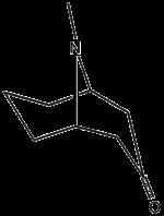 Strukturformel von Pseudopelletierin