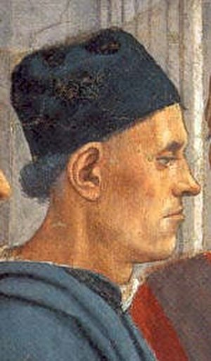 Luigi Pulci - Luigi Pulci in a fresco by Filippino Lippi.